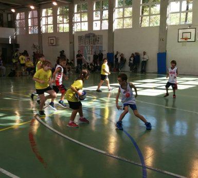 Escola de Bàsquet: Gaudint de la primera Trobada d'Escoles