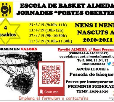 """Jornades """"Portes Obertes"""" (Nascuts 2010/2011)"""