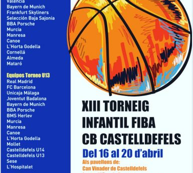 #IM: XIII Torneig Infantil FIBA CB Castelldefels